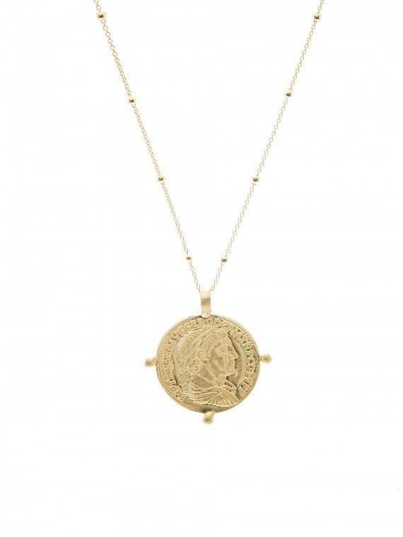 Fio imperador medalha grande + malha saturnos