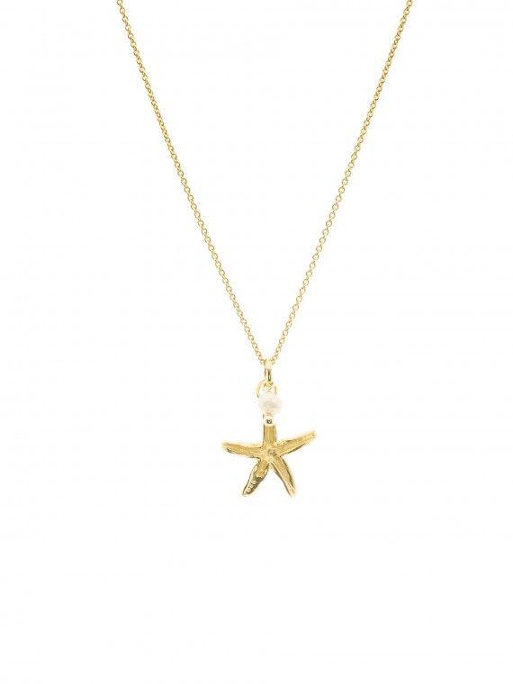 Fio estrela do mar + pérola