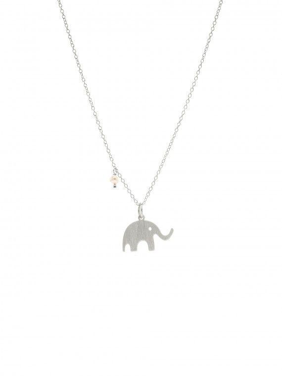 Fio 1 pérola + medalha | Elefante