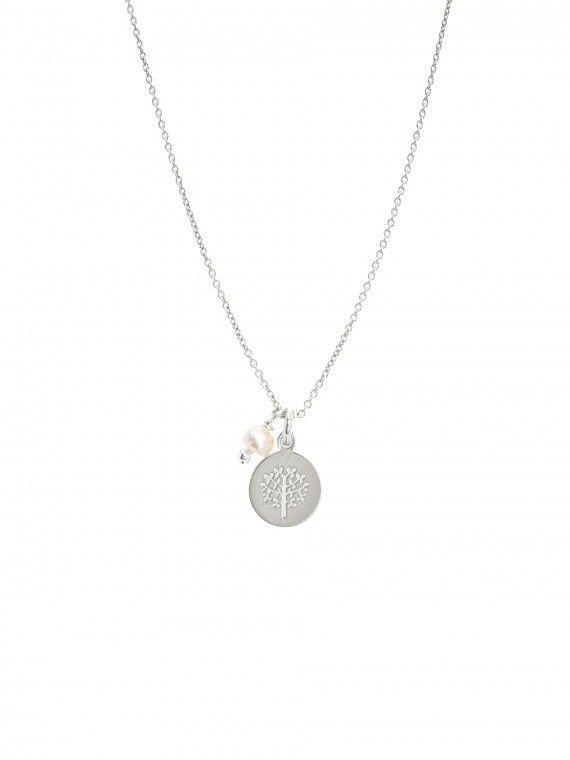 Fio pérola + medalha pequena | Árvore da vida