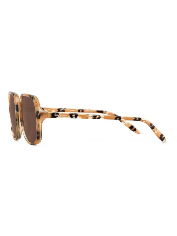 Óculos Belleville padrão animalia