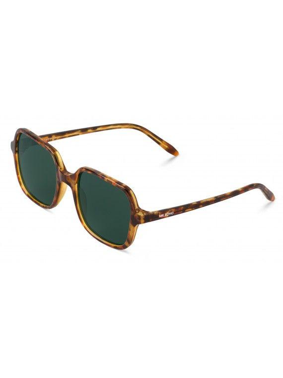 Óculos Belleville  padrão chita e tartaruga
