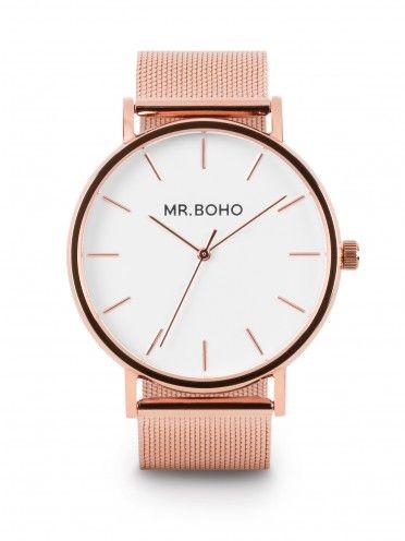 Relógio Classic metallic em cobre
