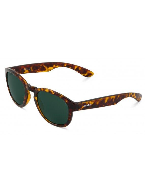 Óculos Peckam padrão chita e tartaruga
