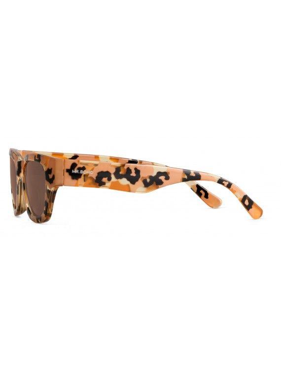 Óculos Kreuzberg padrão animália