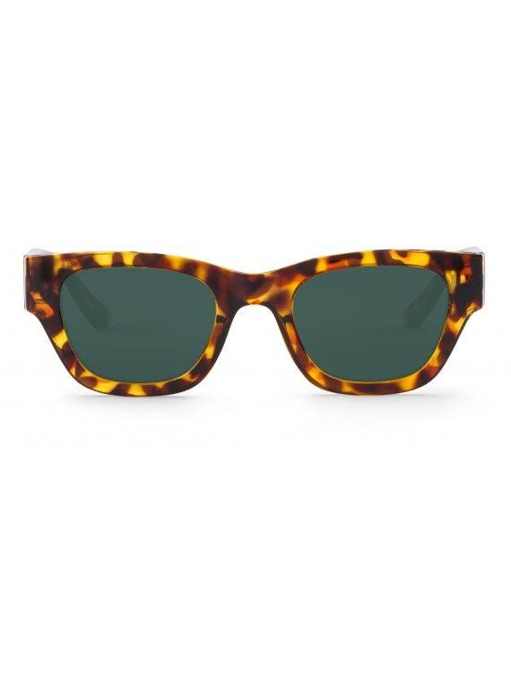 Óculos Kreuzberg padrão tartaruga e chita