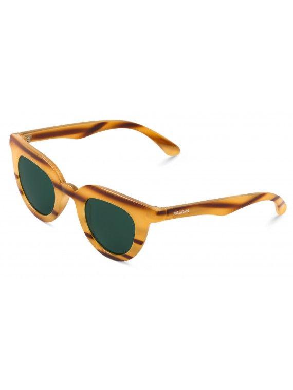 Óculos Hayes riscas orgânicas