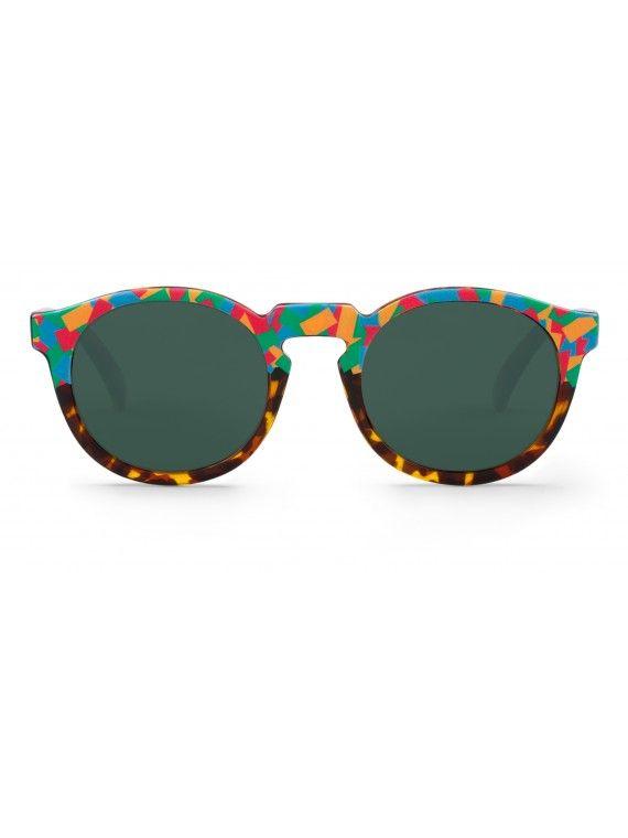 Óculos Jordaan confetes