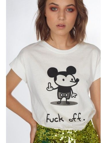 T-shirt Mickey Fuck You