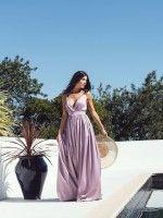 Vestido Longo Lilás
