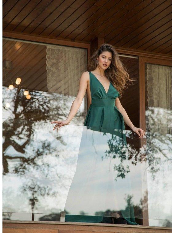 Vestido Comprido Verde