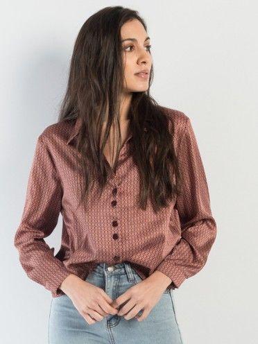 Camisa padrão barroco