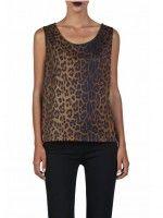 T-shirt Leopardo