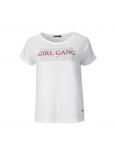 GIRL GANG PRINT T-SHIRT