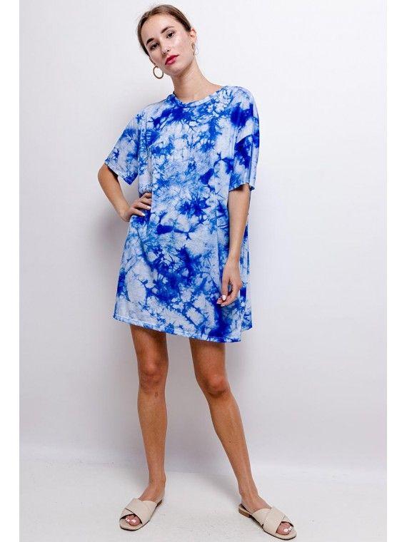 Vestido túnica tie dye