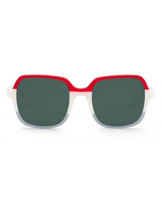 Óculos Belleville padrão marinheiro