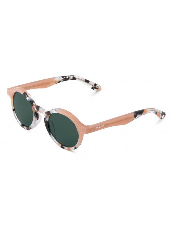 Óculos Dalston dourado com padrão
