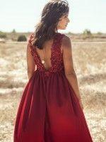 Vestido Vermelho Com Lantejoulas