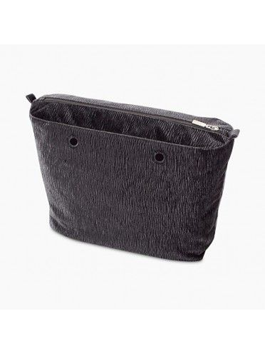 Bolsa Interna Obag Original c/ textura cinzenta