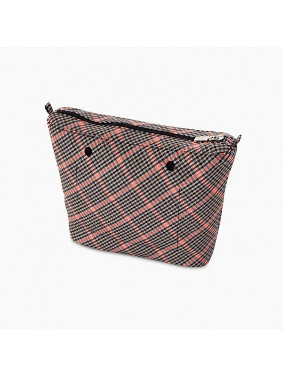 Bolsa Interna Obag mini c/padrão quadrados