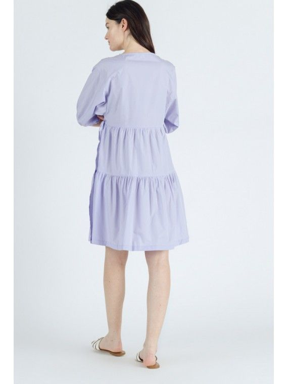 Vestido curto traçado
