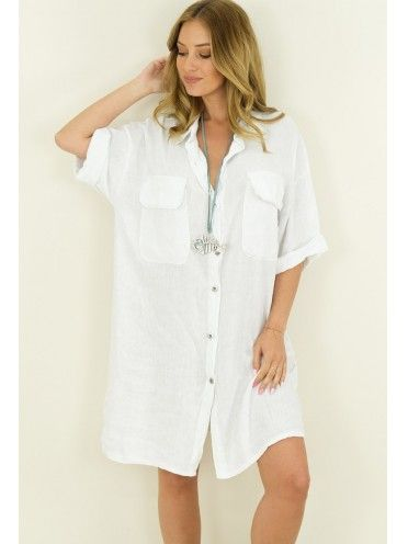 Camisa Branca Solta